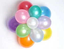 Pearl Ballons Canada - CLassic Toys 1.2 g pearl balloon Balloons Birthday balloons inflatable helium baloon arch for Wedding decoration ballons ball