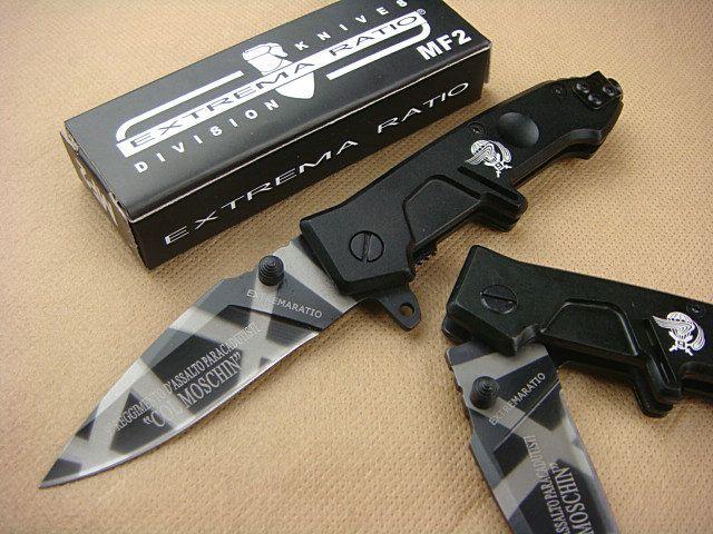 OEM EXTREMA RATIO MF2 surviva pocketl knife, 440C 57HRC Blade, pocket knife Small folding Blade knife knives New in original box