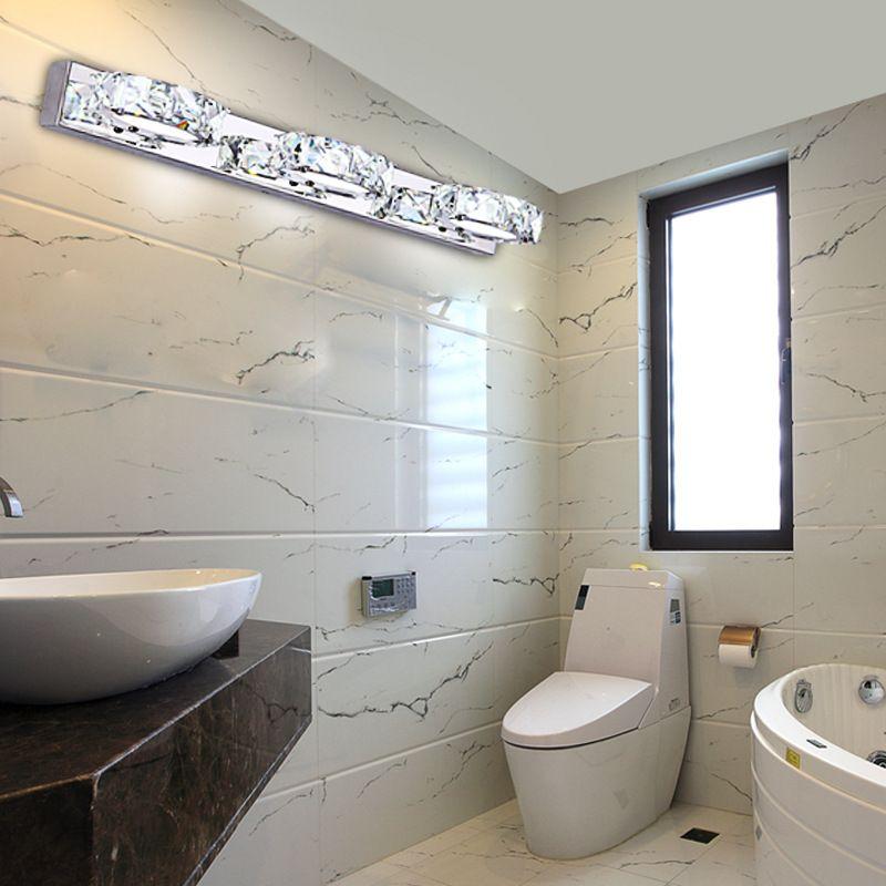 Crystal Torch Bedroom Wall Lamp Bathroom Mirror Front Wall: 2019 High Quality LED Wall Lamp Modern Minimalist Bathroom