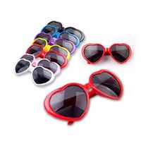 Wholesale Lolita Sunglasses Wholesale - WOMEN RETRO LOVE HEART SHAPE SUNGLASSES SUMMER LOLITA EYEWEAR PARTY 2014 HOT PMPJ032