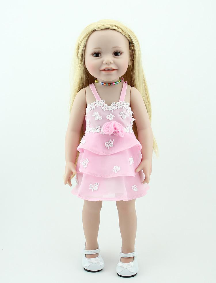 Wholesale 18 Inch American Girl Toys For Children Brown Eyes Baby
