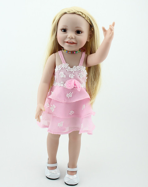 Wholesale 18 Inch American Girl Toys For Children Brown