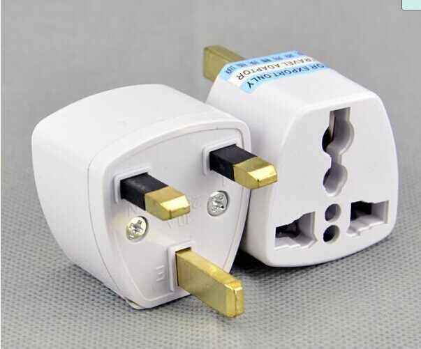 Adaptador de enchufe de alta calidad barato, enchufe universal del adaptador de corriente alterna del viaje de la UE EE.UU.