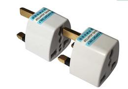Wholesale Europe Ac Power Plug - EU Europe   US AU to UK travel wall plug convertor Universal Travel Power Adapter Plug AC for UK EU AU US Plug Standard Express