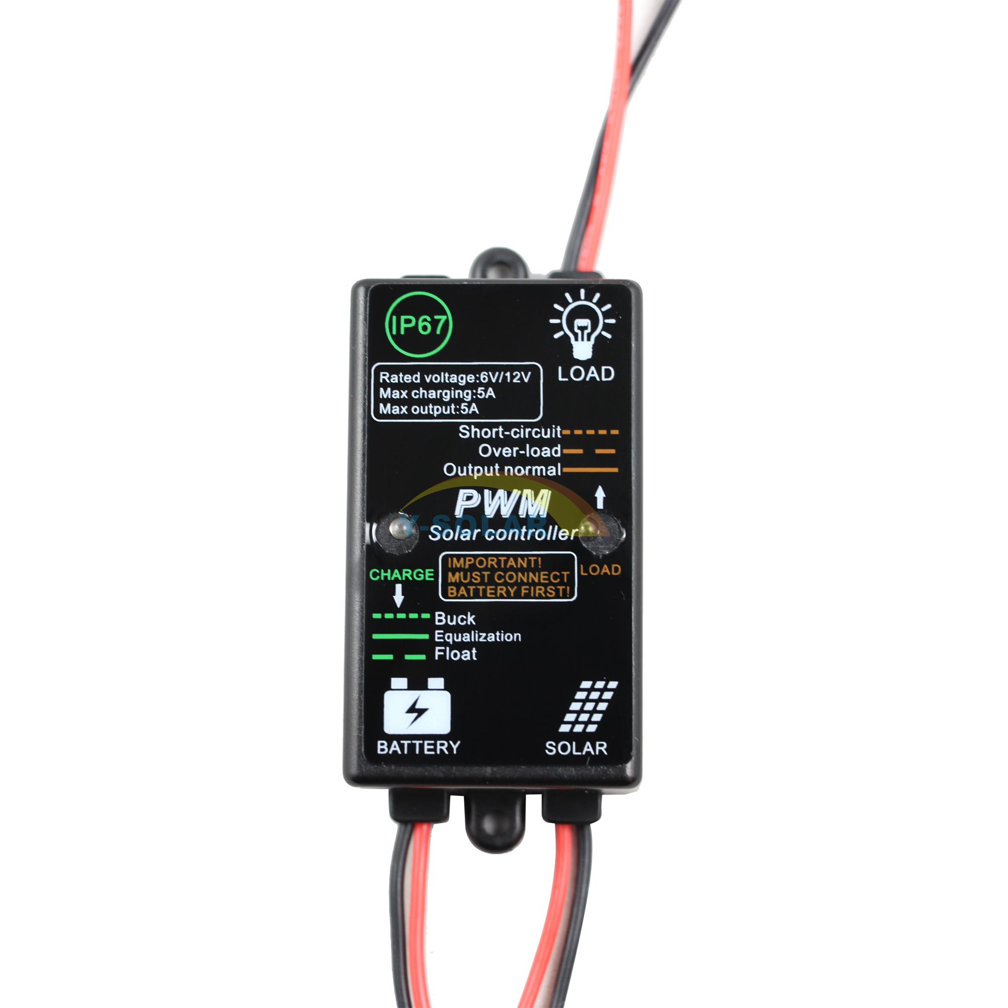 Pwm Solar Battery Charger Controller Circuitin Solar Controllers