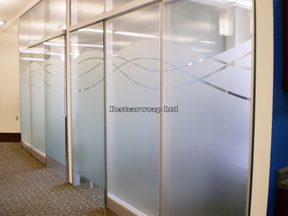 Static Cling Vinyl Opaque Frosted Glass Window Film for Office Home Privacy UK