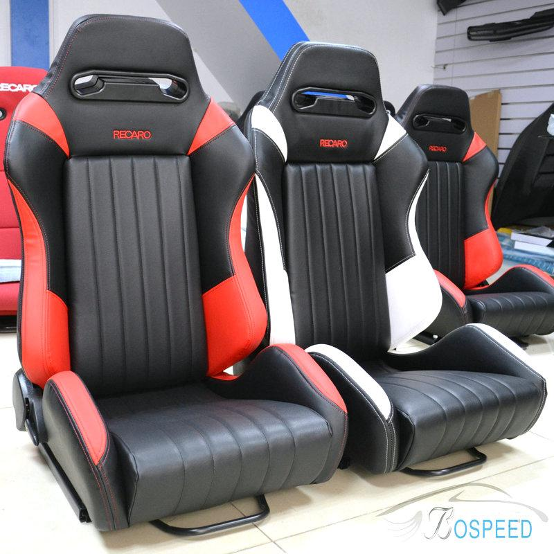2018 2014 New Racing Seats RECARO Car Seat Modification Simulated Leather Color Mix And Match From Jinan2008 67593