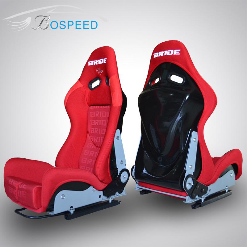 2018 Seat Modification BRIDE Lowmax Fiberglass Racing Adjustable Seats SPS Red Car From Jinan2008 70352