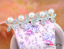 Wholesale Crystal Hair Clip Cheap - 2015 New Fashion Flower Jewelry 6PCS Wedding Tiaras & Hair Accessories Swarovski Crystal Pearl Hair Pins Cheap Head Piece Clips