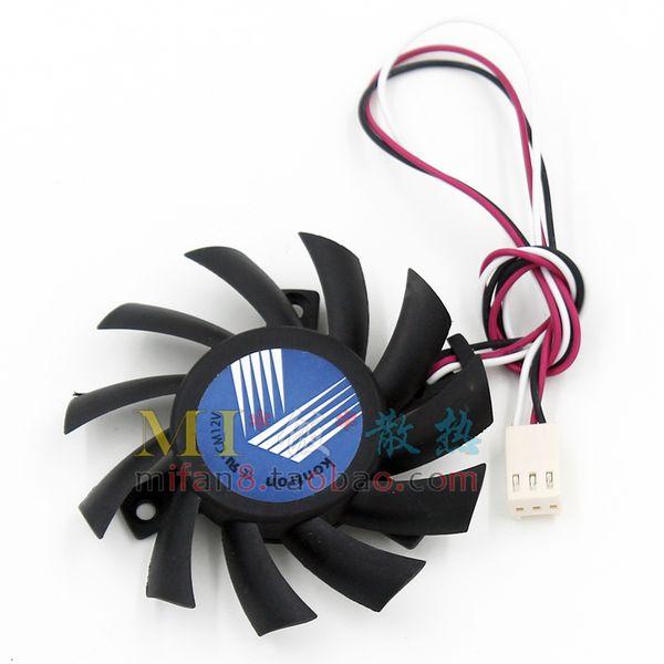 top popular Original PLA07010B12H diameter 6.5CM pitch 4.0CM graphics card fan 2021