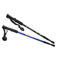 Wholesale 135cm Adjustable Telescopic AntiShock Trekking Hiking Walking Stick Pole quot quot with straps