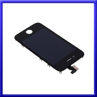 Parte digitalizzatore sostituzione 2014 Display Touch Screen Assembly frontale LCD per iPhone 4 4G 4S nero bianco 20pcs DHL