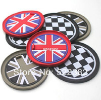 Wholesale Free Mini Cooper - NEW 2014 Car styling Mini One Cooper Countryman slip coasters   storage box gasket soft silicone cars accessories free shipping