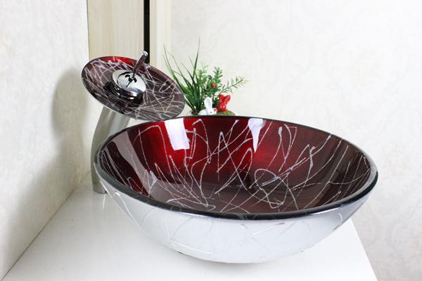 Modern Bathroom Basin Hot Sale Glass Basin Bathroom Basin Wash - Modern bathroom sinks for sale
