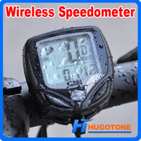 Wholesale Lcd Multi Function Bike - High Quality Wireless Waterproof LCD Outdoors Sports Cycling Bike Bicycle Accessories Computer Multifuncational Travel Odometer Speedometer