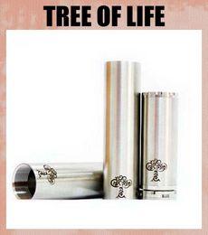 caixa de vida da árvore Desconto Chegada nova Árvore Da Vida Mod 510 Aço Inoxidável Mecânico Regular Tamanho E 26650 Tamanho Mod Com Caixa de Presente TZ076