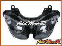 Wholesale Ninja Headlight - Addmotor Headlight For Kawasaki Ninja ZX-6R ZX6R ZX 6R 2009-2012 09-12 Hyaline KL695