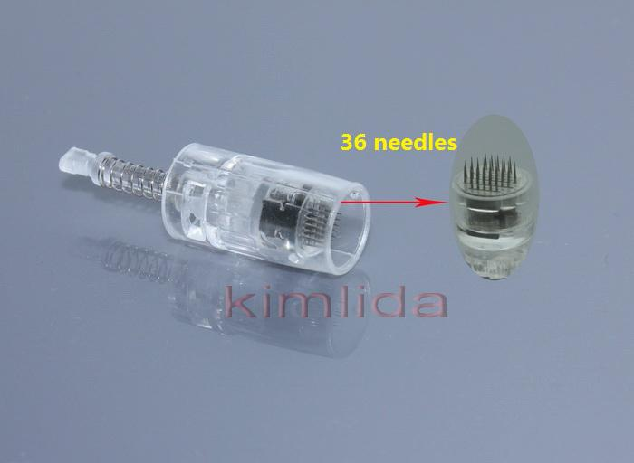 derma pen needle cartridge/ electric derma stamp derma pen needles/derma roller Derma Stamp MYM derma pen 9 pin 12 or 36 needles