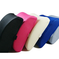 Wholesale Leather Neck Pillows - Memory Foam Car seat back waist support Cushion Lumbar Pillow Tournure In Five Colors