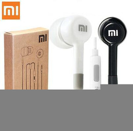 Wholesale Earphone Mic Remote High Quality - High Quality Earphone Headphone Headset For XiaoMI M2 M1 1S Samsung iPhone With with Remote And MIC retail package 100pcs