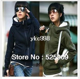 Wholesale Cheap Gray Hoodies - Hot Sale New cheap women Long sleeve hoodie cardigans coat women's hoodie sports wear Track hoodie sweatshirt WF-327