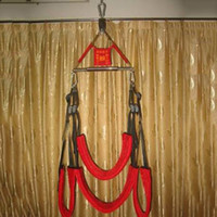 "Wholesale Lovers Chairs Sex - Sex Swing Chair for Couples Lovers Sexual Game Sling BDSM Bondage Set Sex Furniture (the ""A"" shape hanger is not included)"