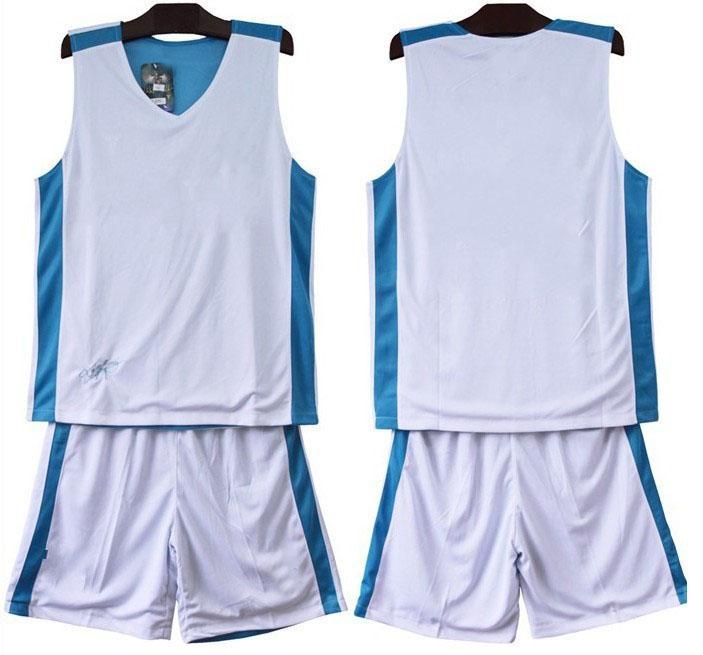dc49bb5dcb7 2019 2014 Mens Custom Basketball Jerseys Adults Double Views Blue ...