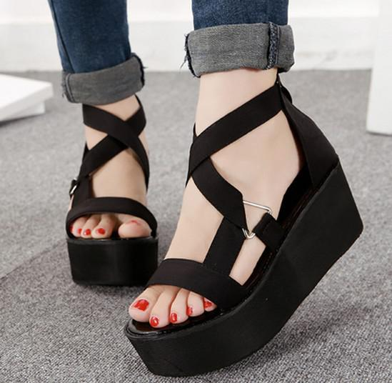 fashion girls 2014 ladies pumps high heels summer roman