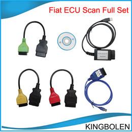 Wholesale Fiat Ecu - Fiat ECU SCAN full set Auto diagnostic interface scanner Ecu diagnostic tool for fiat super quality One year quality