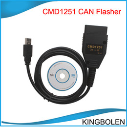 Wholesale Programmer Memories - CMD CAN Flasher V1251 read and write flash memory CMD1251 CAN Flasherr Free shipping