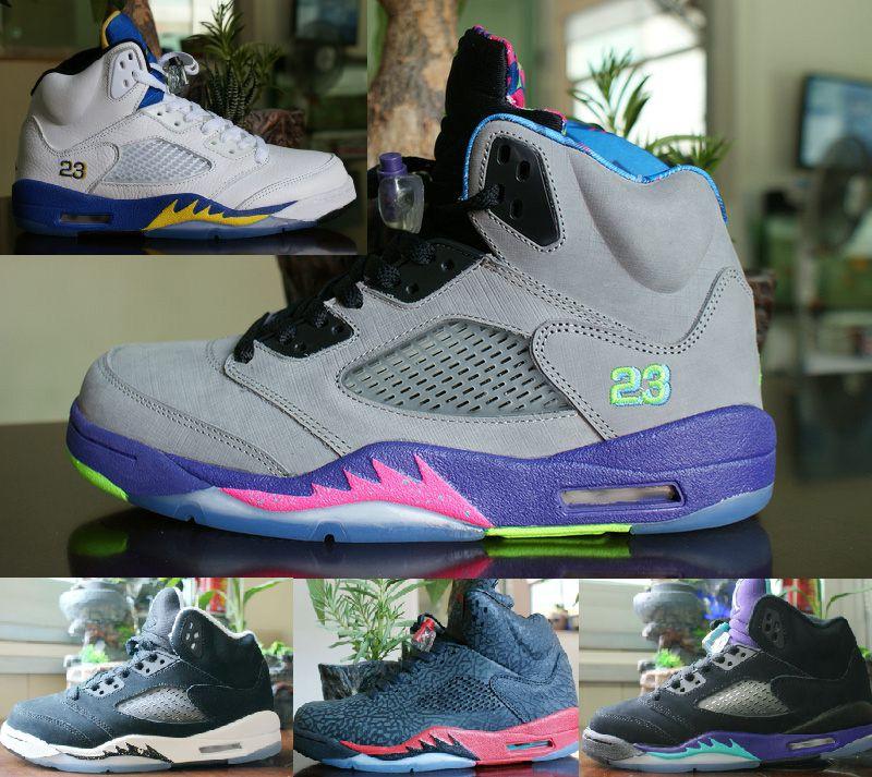 Brand Retro 5 Bel Air Fresh Prince Laney Oreo 3lab5 Grape Retro 5s Men Basketball Shoes From Sbczm 64 25 Dhgate Com