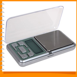 Wholesale Diamond Weighing Scales - Wholesale-10pcs! MH Series 500g   0.1g High Accuracy Pocket Scale Mini Portable Digital Electronic Diamond Jewelry Scale Weigh Balance