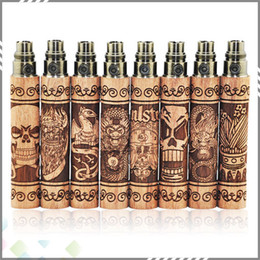 Wholesale Newest Ego E Cig - Newest Design S Fire Battery Vapor Mod EGO Battery S Fire Wooden Ecigarette Vape Pens 650 900 1100mah E Cig Battery with 510 thread