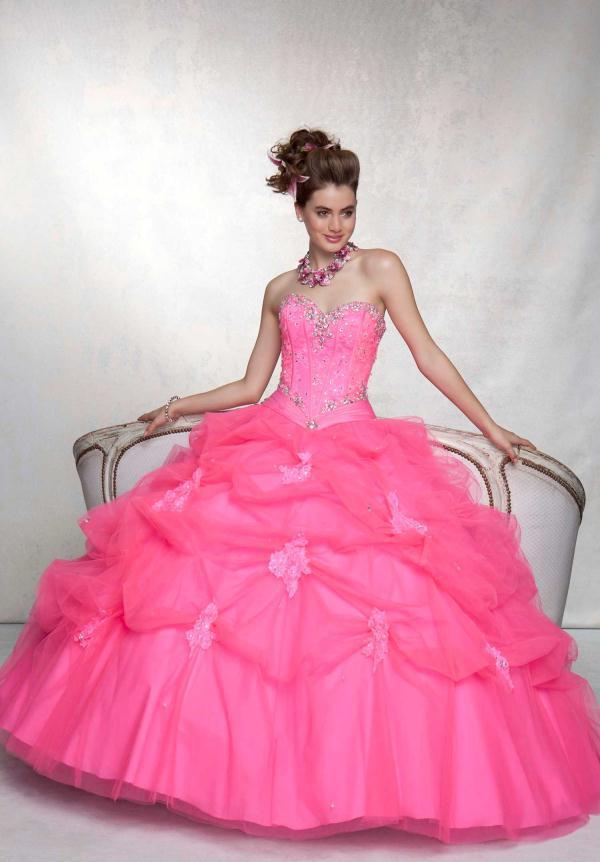 Compre Nuevo Vestido Elegante Desfile Dulce Quinceañera Vestidos De ...