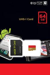 Wholesale 2gb Cards - 100% Real original capacity Class 10 64GB 32GB 16GB 8GB 4GB 2GB MicroSD Card TF Memory Card C10 Flash SDHC SD Adapter