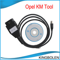 Wholesale Opel Km - Opel KM Tool Auto Mileage Correction Tool Opel odometer correction reset tool Free shipping