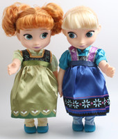 Wholesale High Dolls - Frozen Elsa Anna Doll Princess Queen Movie Toys New Arrival Dolls With Retail Box High Quality 30cm 12 inches