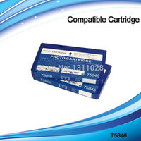 Wholesale Epson T5846 - T5846 Compatible Ink Cartridges for PictureMate PM200 PM225 PM240 PM280 PM290,free shipping