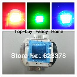 2019 nuove lampade fluorescenti 2 pz 20 W RGB ad alta potenza LED rosso verde blu luce chip 20 watt LED lampada perlina lampadina spedizione gratuita inseguimento hd010
