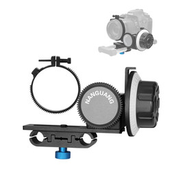 Wholesale Ring Light For Dslr - 2014 New Nanguang Follow Focus CN-90F with Gear Ring Belt for Canon Nikon Lens DSLR Cameras Camcorders D1340