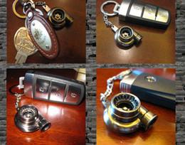 série chave esperta do bmw Desconto Colorido Turbo Chaveiro Turbina Turbo Turbina Turbocharger Chaveiro Anel Chave Chaveiro Keyfob Chaveiros 20 pçs / lote