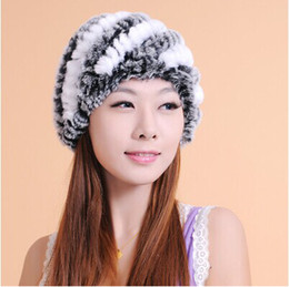 Wholesale Cute Tops For Winter - New arrival winter korean fashion cute grass weaving plush warm hats cap for women free shipping