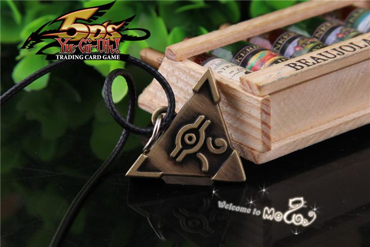 2019 Yugioh Pyramid Of Light Necklace Retail New Arrival