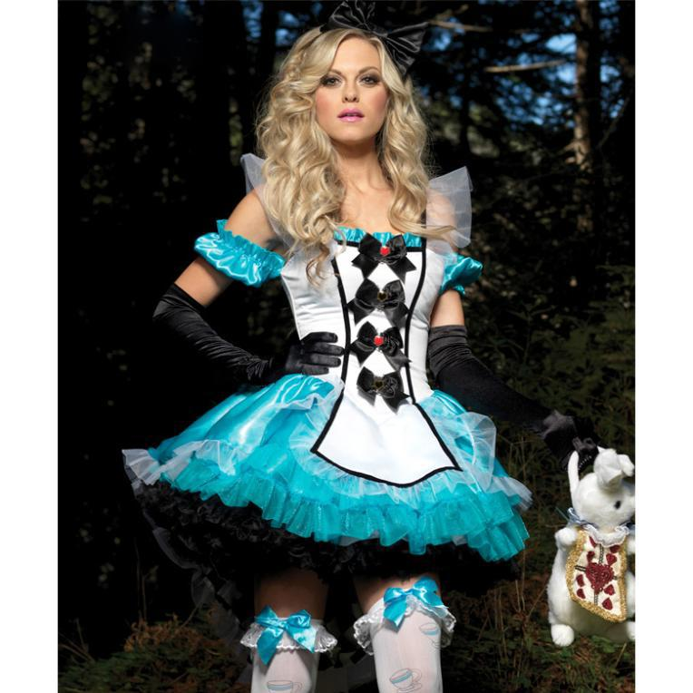 2018 Sexy Cosplay Costumes Deluxe Fantasy Alice Costume Alice In Wonderland  Costumes Cartoon Character Movie Costumes From Fridays2, $53.88 | Dhgate.Com