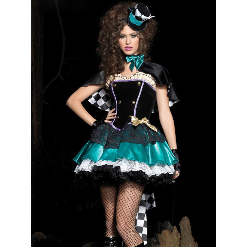 2018 2014 New Sexy Cosplay Costumes Deluxe Tea Time Mad Hatter Costume Halloween Party Show From Fridays2 $106.91 | Dhgate.Com  sc 1 st  DHgate.com & 2018 2014 New Sexy Cosplay Costumes Deluxe Tea Time Mad Hatter ...