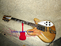 Wholesale Electric 12 String Rick Guitar - Wholesale -Natural 12 Strings 325 330 Rick Electric Guitar 3 Pickups New Arrival Best Free Shipping