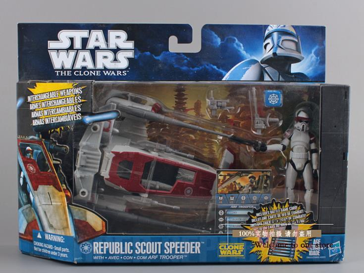 Star Wars The Clone Wars Toys : Star wars toys the clone republic scout