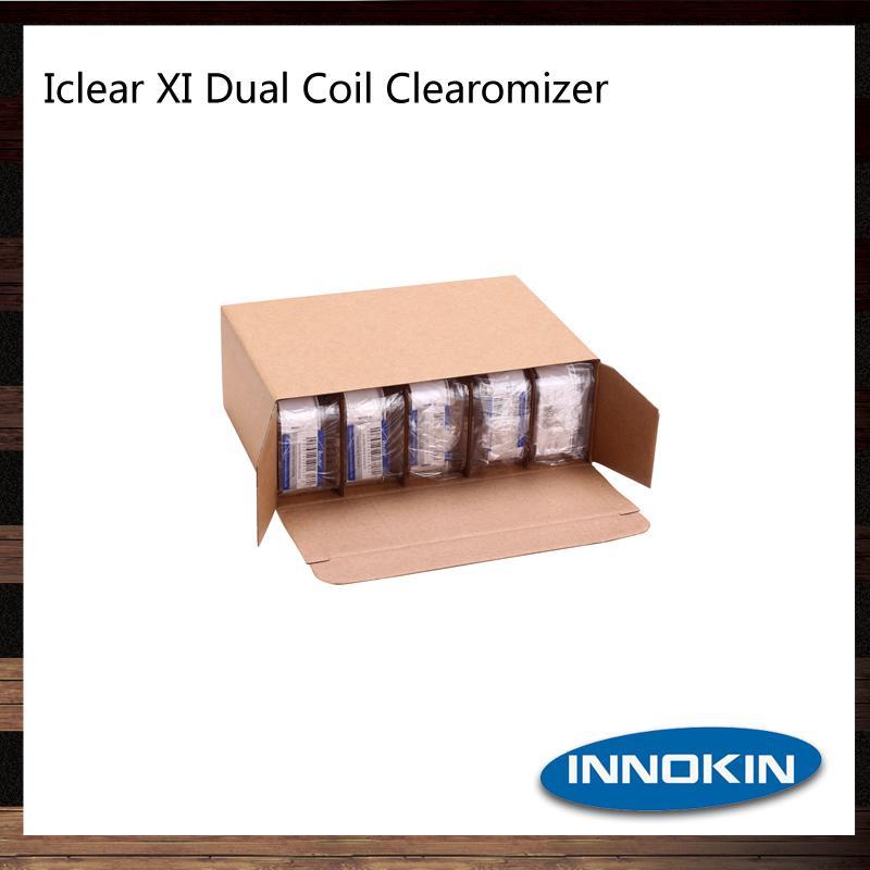 Innokin iClear X.I Pyrex Clearomizer 3 ml Dual Coil iClear XI Pyrexglas BDC Zerstäuber 100% Original