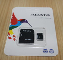 Wholesale 64gb New Micro Sd Sdhc - 2017 New Arrival ADATA 256GB 128GB 32GB 64GB Micro SD Card TF C10 Flash SDHC SD Adapter SDXC Retail Package