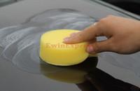 Wholesale Car Waxes - Car Care & Cleaning 60X Car Foam Waxing Polishing Washing Sponge Pad Applicator Free shipping